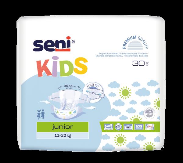 Seni Kids Junior Windelhosen Kinder 30 Stück Verpackung