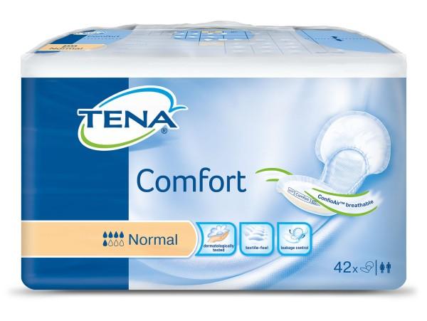 Tena Comfort Normal Vorlagen Damen Herren 42 Stück Verpackung