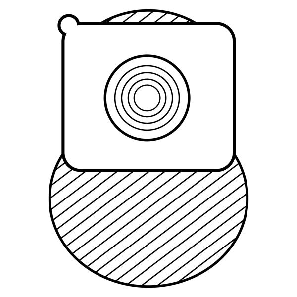 Stomocur® Kolostomiebeutel Select MicroSkin® CS2513CW Piktogramm