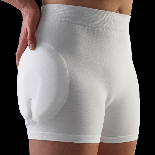 Suprima Safehip® Classic Wechselhose weiß Damen Herren angezogen