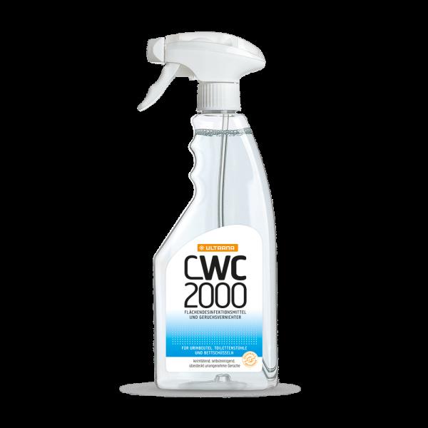 Ultrana CWC 2000 Sprühflasche 500 ml Desinfektionsmittel Geruchsvernichter Ansicht