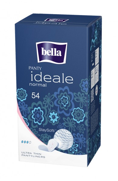 Bella Panty ideale Slipeinlagen Normal mit Frischeduft 54 Stück Verpackung