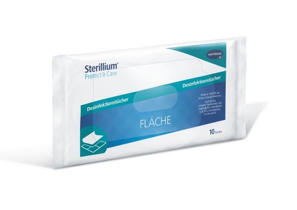 Sterillium® Protect & Care Desinfektionstücher Fläche 10 Stück Ansicht