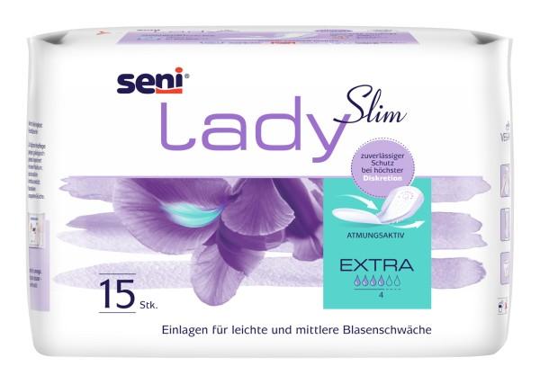 Seni Lady Slim Extra Einlagen Damen 15 Stück Verpackung