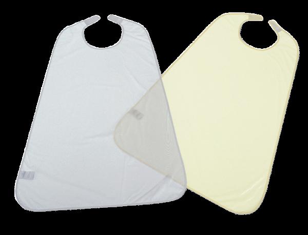 Suprima Ess-Schürze PVC 5056 blau-transparent gelb Ansicht