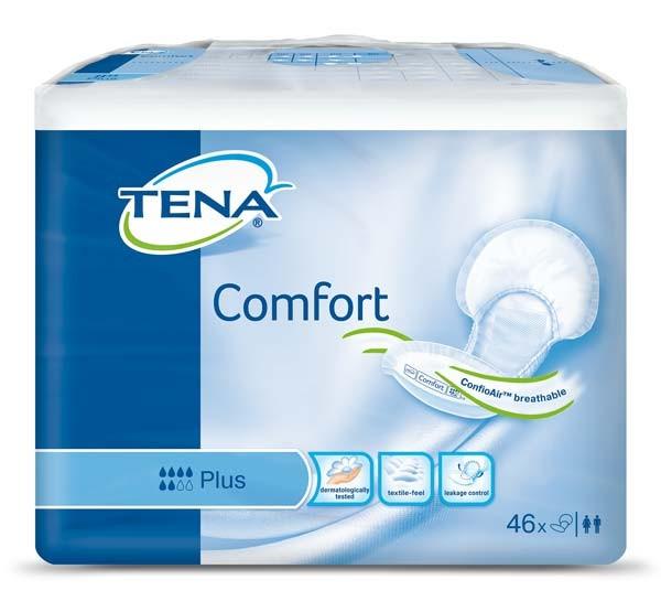 Tena Comfort Plus Vorlagen Damen Herren 46 Stück Verpackung