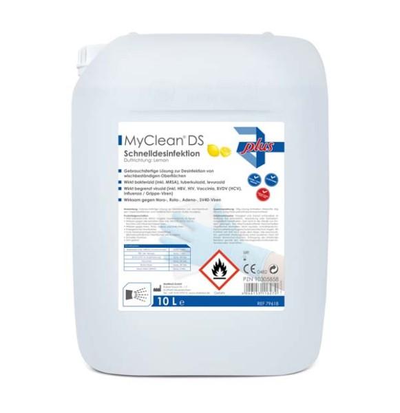MyClean® DS Schnelldesinfektion Duft zitrone 10 l Ansicht