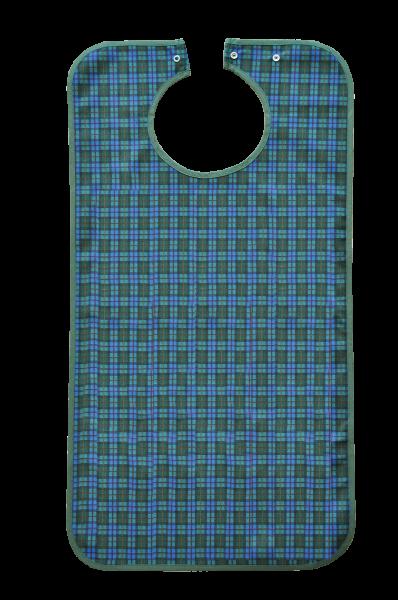 Suprima Ess-Schürze Polyester 5574 blau-grün-kariert Ansicht