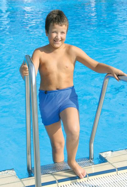 Suprima Schwimmshorts KIDS 1522 blau Kinder angezogen