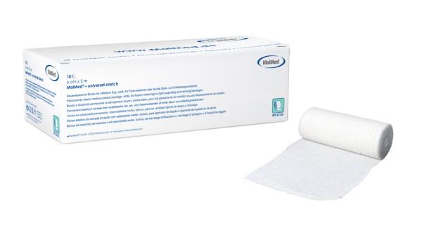 MaiMed® universal stretch Binden Fixierverband 10 Stück Verpackung Ansicht