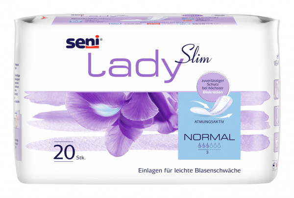 Seni Lady Slim Normal Einlagen Damen 20 Stück Verpackung