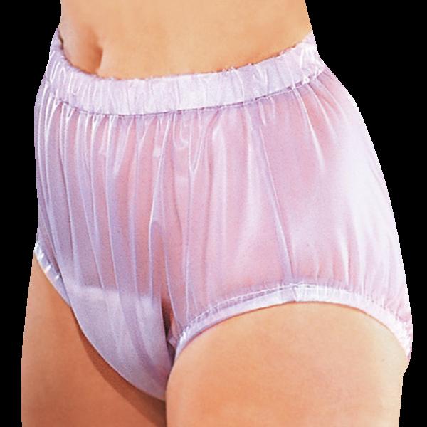 Suprima PVC-Slip 1211 lavendel Schutzhose Damen Herren angezogen