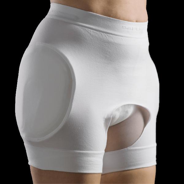 Suprima Safehip® AirX™ Open Slip weiß Damen Herren angezogen