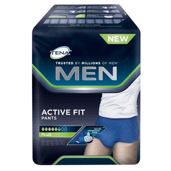 Tena Men Active Fit Pants Einmalunterhosen Herren Verpackung
