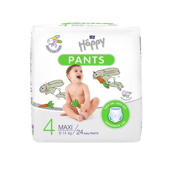 Bella Baby Happy Pants Gr. 4 Maxi 8-14 kg 24 Stck. Verpackung