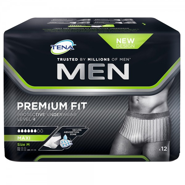 Tena Men Premium Fit Protective Underwear
