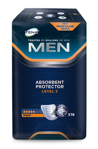 Tena Men Level 3 Einlagen Herren 16 Stück Verpackung