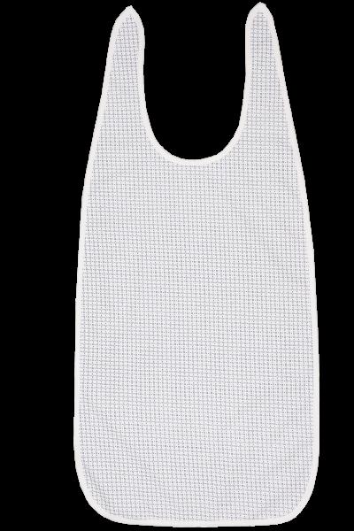 Suprima Ess-Schürze 5045 weiß-bedruckt Ansicht