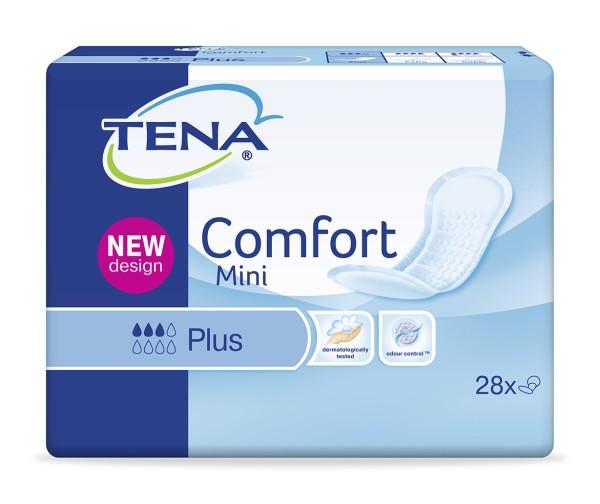 Tena Comfort Mini Plus Einlagen Damen Herren 28 Stück Verpackung