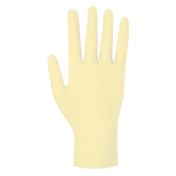Gentle Skin sensitiv Einmal-Handschuhe gelb Ansicht