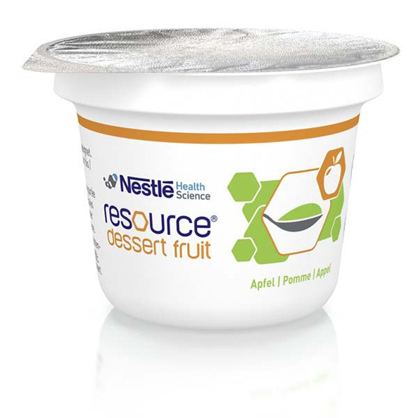 Resource® Dessert Fruit Fruchtspeise apfel 125 g Ansicht