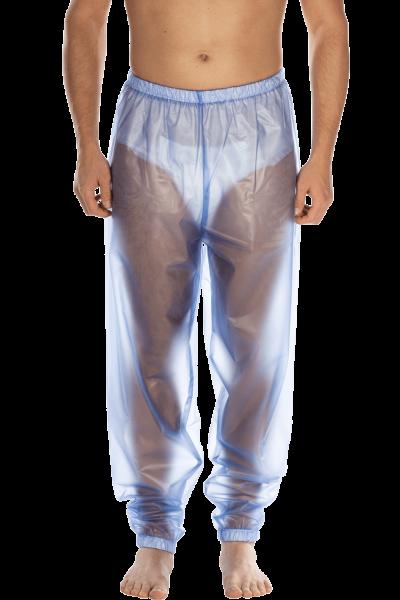 Suprima Schlafanzug-Hose PVC 9613-011 blau-transparent 1 Stück Frontansicht