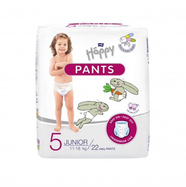Bella Baby Happy Pants Gr. 5 Junior 11-18 kg 22 Stck. Verpackung