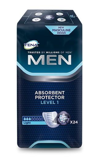 Tena Men Level 1 Einlagen Herren 24 Stück Verpackung