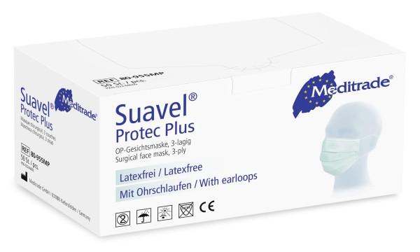 Suavel® Protec Plus OP-Maske grün 50 Stück Verpackung