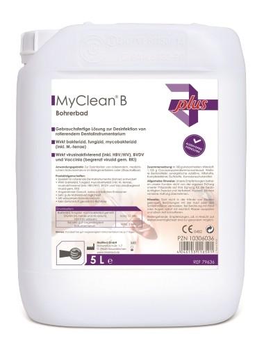 MyClean® B Bohrerbad Instrumentenreinigung 5 l Ansicht
