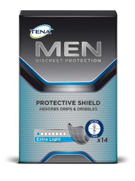 Tena Men Protective Shield Einlagen Herren 14 Stück Verpackung