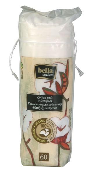 Bella Cotton Duo-Wattepads Bio 60 Stück Verpackung