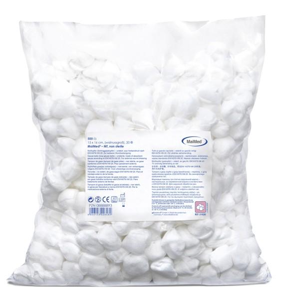 MaiMed® MT unsteril Mulltupfer 500 Stück Verpackung