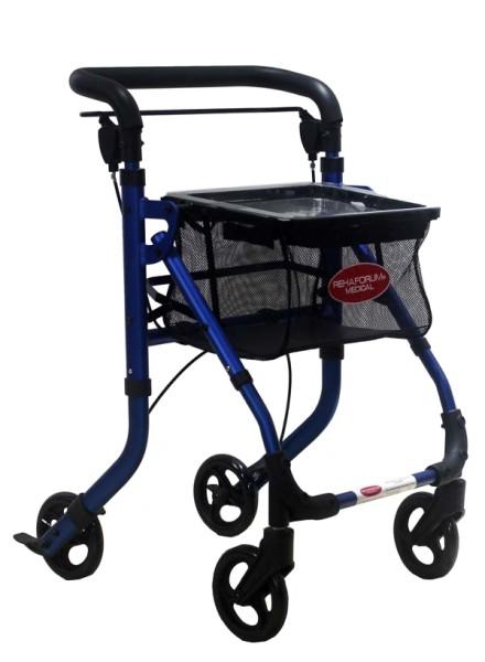 Actimo® Home Indoor Rollator 1 Stck. blau