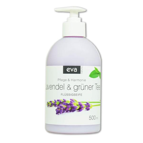 Eva Natura Flüssigseife Lavendel & Tee 500 ml Ansicht