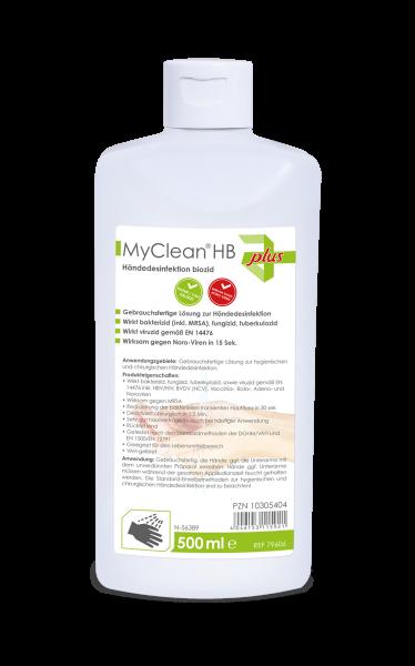 MyClean® HB Händedesinfektion biozid 500 ml MaiMed® Ansicht