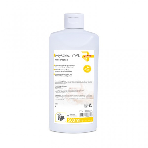 MyClean® WL Waschlotion 500 ml Ansicht