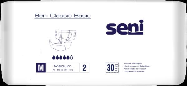 TS2 Seni Classic medium Windelhosen 30 Stck. Verpackung