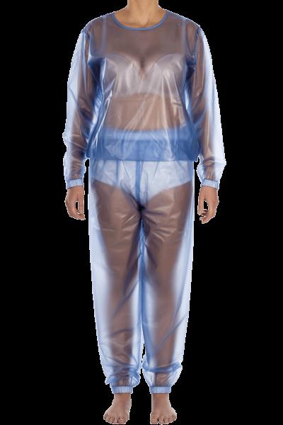 Suprima Schlafanzug Set PVC 9612-011 blau-transparent 1 Stück Frontansicht