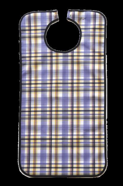 Suprima Ess-Schürze Polyester 5570 blau-kariert Ansicht