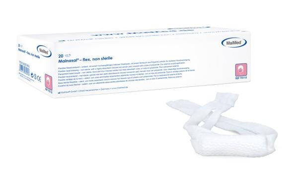 Mainasal® flex Nasenverband Nasenschleuder länge 6 cm ⌀ 3 cm Ansicht