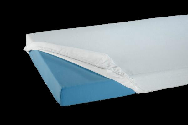 Suprima Spannbetttuch Frottee 3071 weiß Bettschutz bezogen