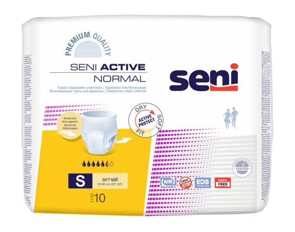 Seni Active Normal small Einmalunterhosen Damen Herren 10 Stück Verpackung