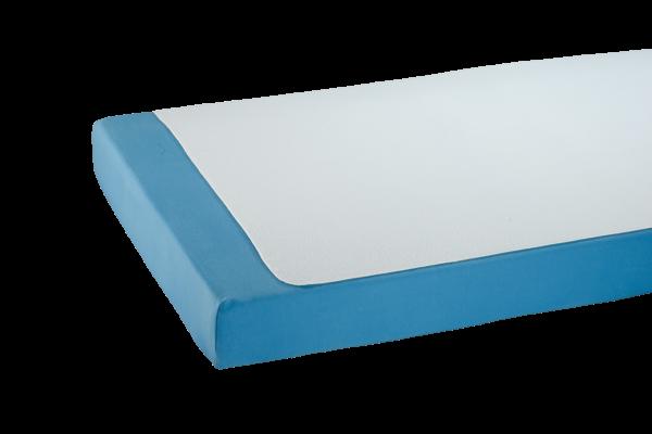 Suprima Mehrfach-Bettauflage Frottee 3032 weiß Bettschutz bezogen