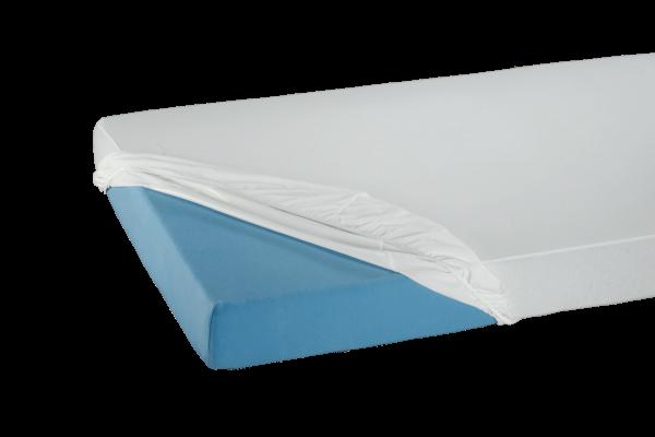 Suprima Spannbetttuch PVC 3063 weiß Bettschutz bezogen