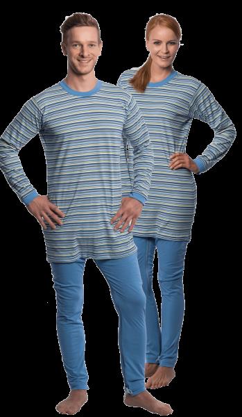 Suprima CareFunction Pflegeoverall 4708 hell-blau Damen Herren angezogen