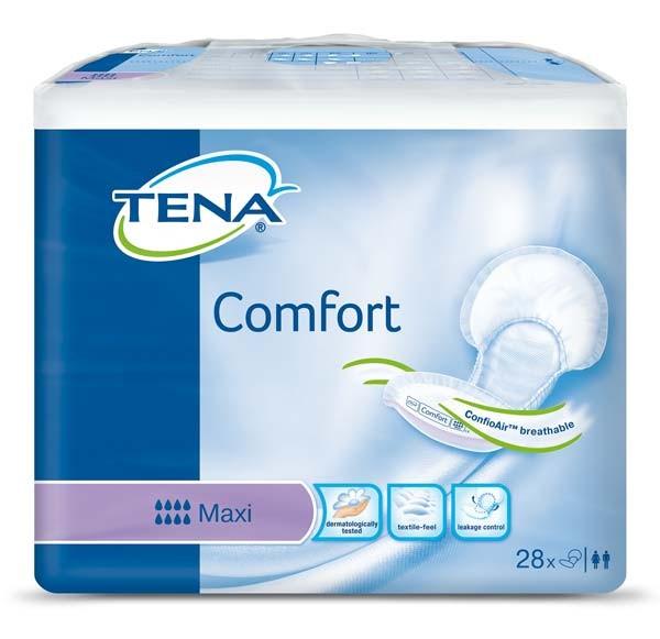 Tena Comfort Maxi Vorlagen Damen Herren 28 Stück Verpackung