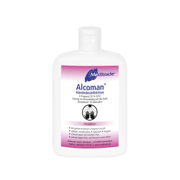 Alcoman® Händedesinfektion 150 ml Meditrade® Ansicht