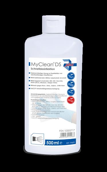 MyClean® DS Schnelldesinfektion 500 ml Ansicht