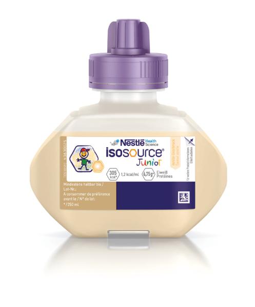Isosource® Junior Vanille Sondennahrung Trinknahrung 250 ml Ansicht